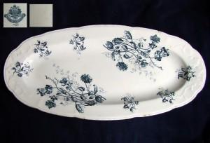 кузнецовская посуда блюдо