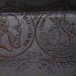 мастерская В.О. Вишнякова 1877 - начало 1880 годов клейма на лаковой шкатулке