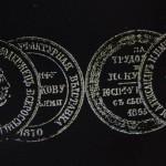 мастерская О. Ф Вишнякова с сыновьями 1865 -1870 лаковая миниатюра клейма шкатулки