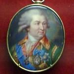 русская портретная миниатюра эмаль потемкин