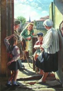 Лактионов Александр Иванович 1910 - 1972 Письмо с фронта 1947 год