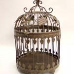 старинная клетка для птиц 50 на 32 см, старт 120 евро