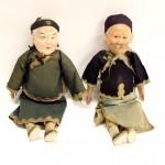 старинные китайские куклы марионетки высота 28 см папье-маше старт 170 евро