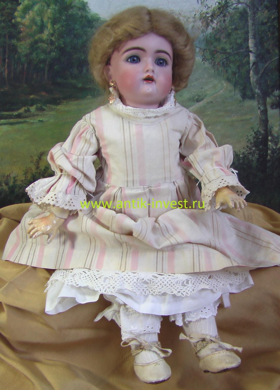 купить продать настоящую антикварную куклу