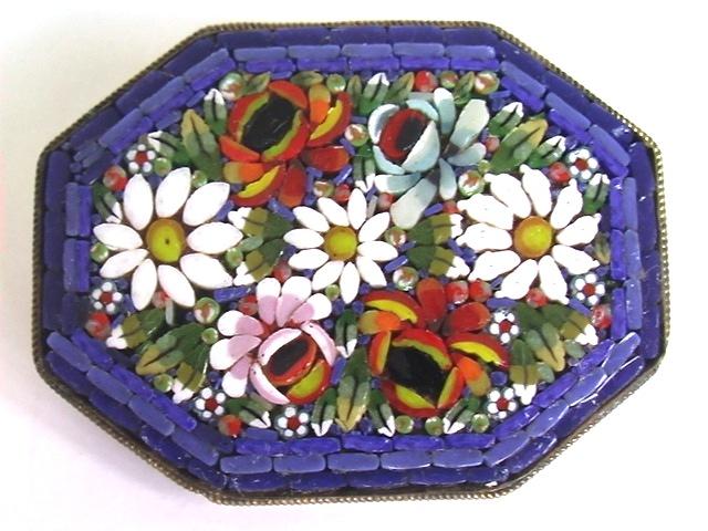 купить римскую мозаику милефлиори