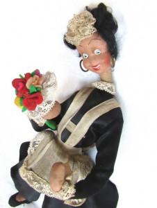 lenchi lenci кукла тряпочная винтаж винтажная