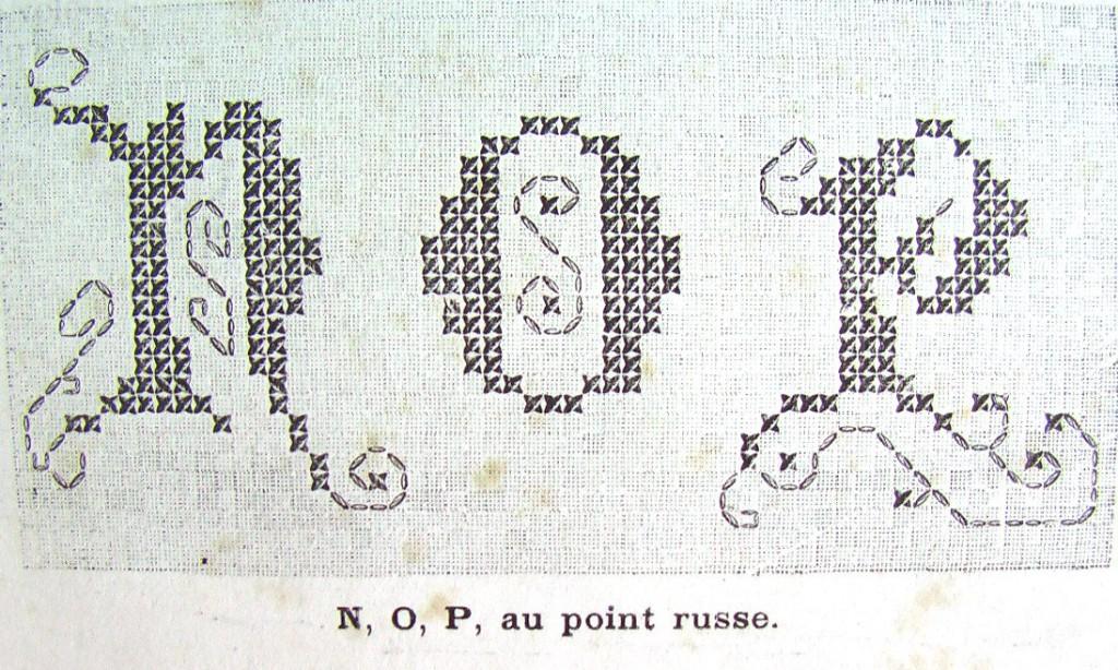 схема вышивки монограммы алфавита букв
