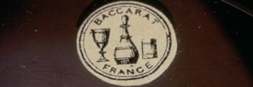 baccarat 1860 первое клеймо бакара