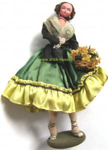 винтажные фетровые куклы клумпе ролдан