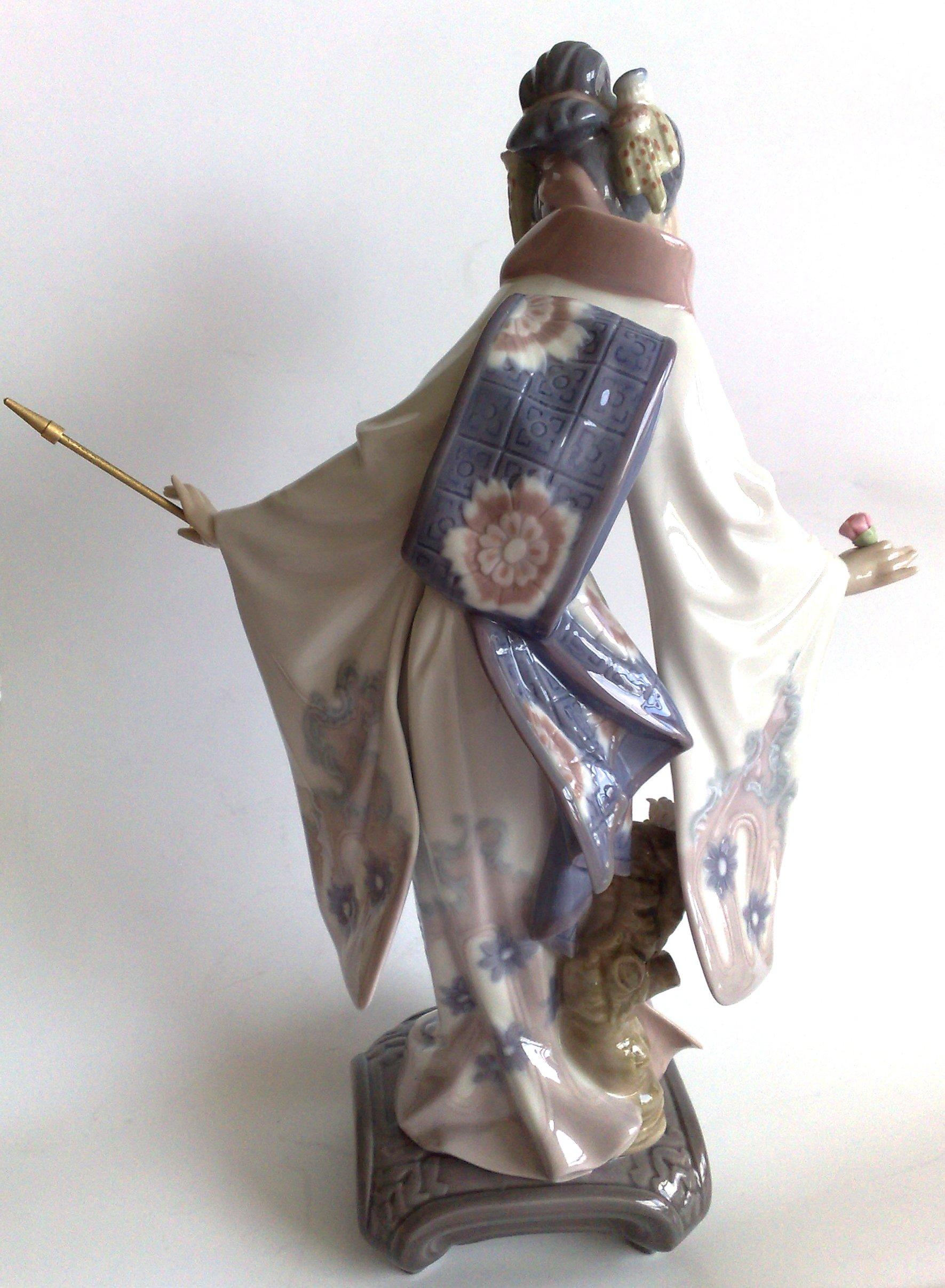 """в продаже статуэтка """"Гейша"""" LLADRO Испания, фото кликабельно"""